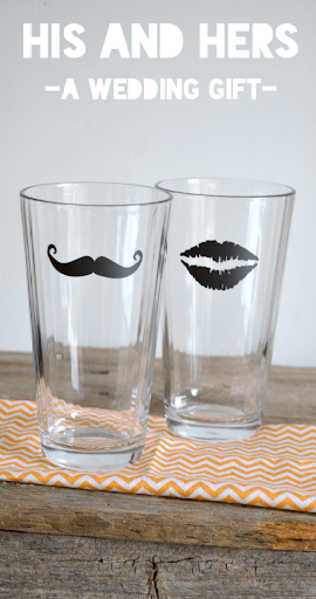 His & Hers Wedding Present Idea