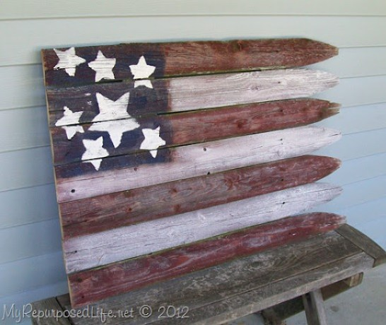 stockade fence flag