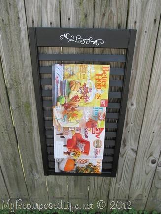repurposed bi-fold door