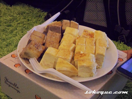Jumpa Nuffnang Angels - kek millecrepe Humble Beginning
