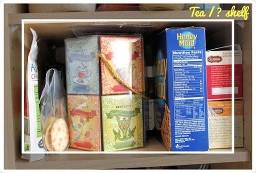 kitchen pantry clutter problem shelf