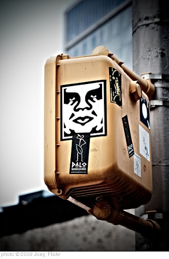 'giant OBEY giant' photo (c) 2009, Joey - license: http://creativecommons.org/licenses/by/2.0/