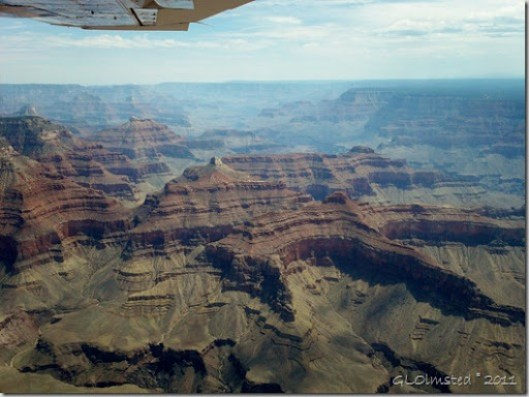 Flying over Grand Canyon National Park Arizona