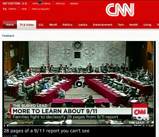 CNN: 28 Pages of a 9/11 report you can't see
