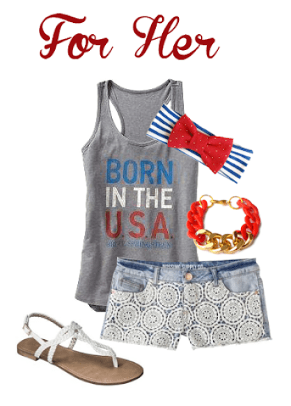 What to Wear - Fourth of July outfit ideas for the whole family!