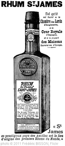 'Rhum Saint James' photo (c) 2011, Frédéric BISSON - license: http://creativecommons.org/licenses/by/2.0/