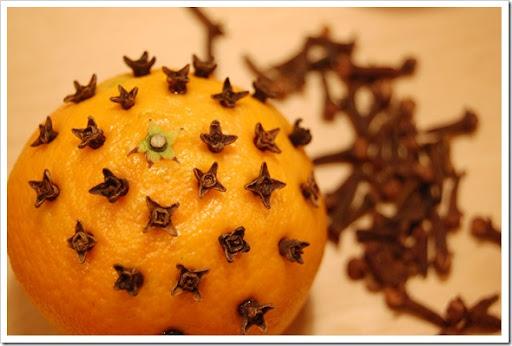 oranges cloves begin