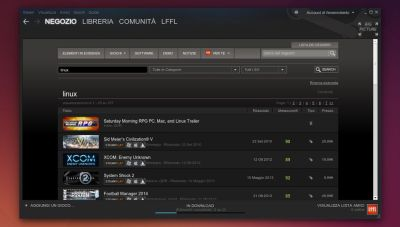 Valve Steam in Ubuntu