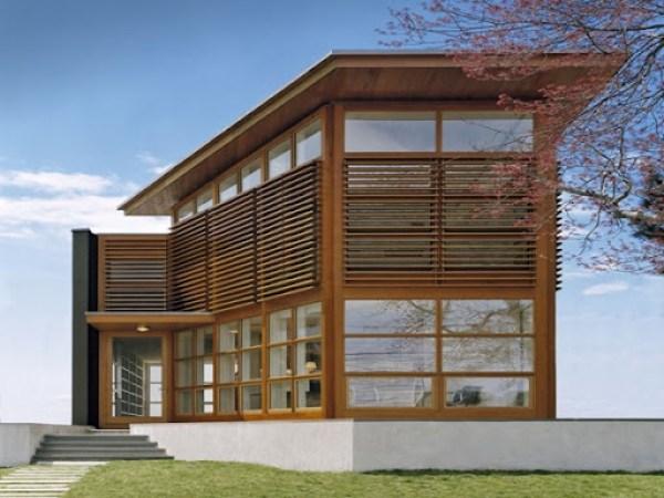 Fachada-de-madera-Sound-House-Roger-Ferris-Partners