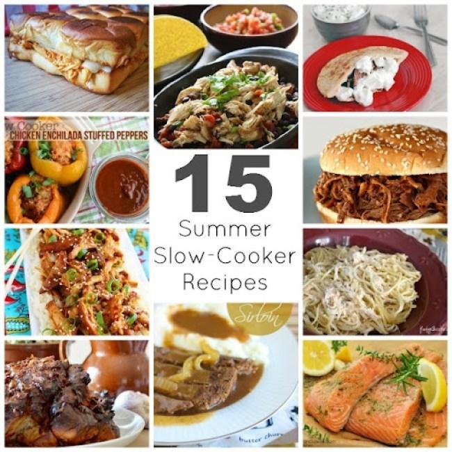 15 Summer Slow Cooker Recipes