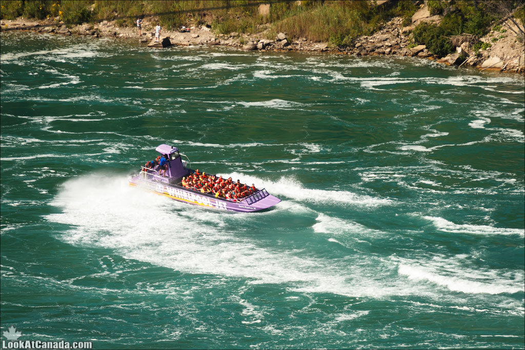 LookAtIsrael.com: Фото-блог о путешествиях по Израилю. Тель Авив, Иерусалим, Хайфа Различные водные атракции США и Канады на реке Ниагара
