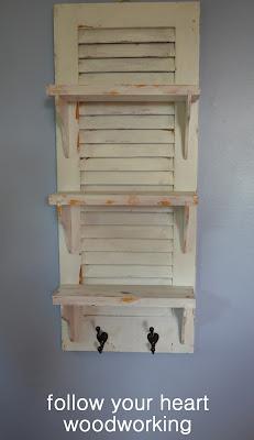 repurposed shutter