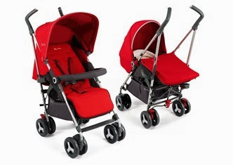 Silver Cross Reflex Chilli showing both pushchair and pram system