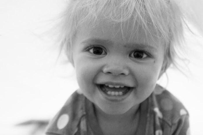 ellie age two