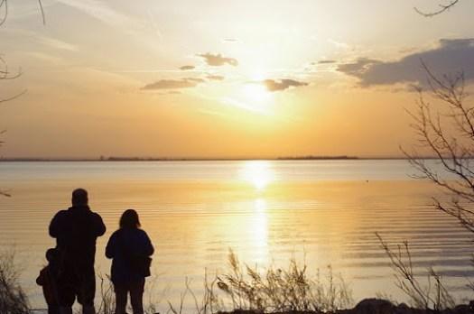 Sunset on Last Mountain Lake