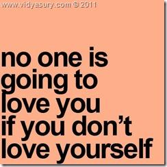 Vidya Sury love-yourself