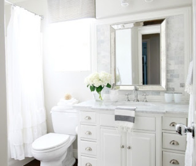 When We Set Out To Renovate The Bathroom I Knew I Wanted Something Timeless Cl Ic And Clean I Wanted It To Be Breath Of Fresh Air And To Be Very Spa