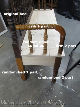 Spool Bench Parts