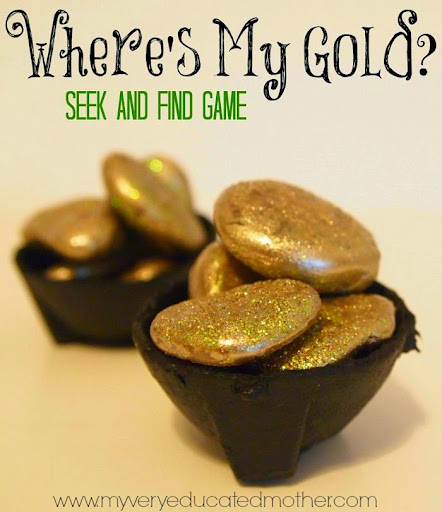 My Very Educated Mother: Where's My Gold: A Seek and Find Game