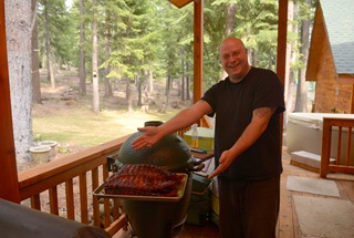 killer baby back ribs in the big green egg by Kevin the bbq king