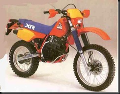 Honda XR350R 85  2