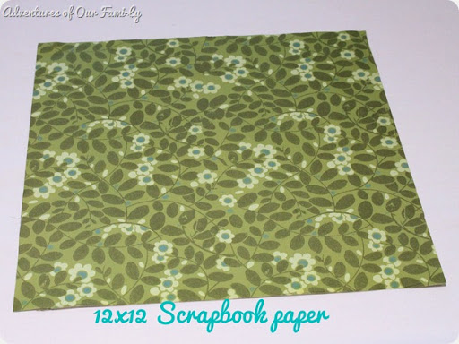 quiet book scrapbook paper template