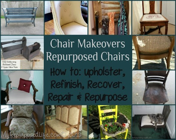 My Repurposed Life-Makeover that Chair