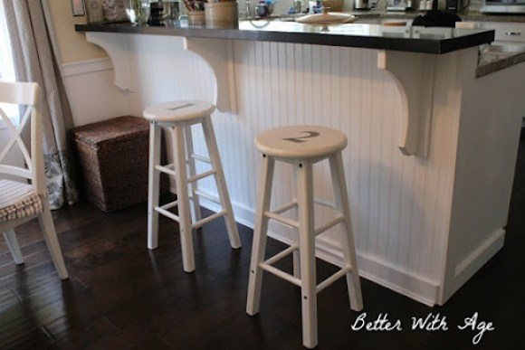 Numbered Bar Stools