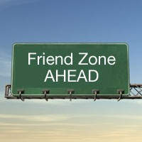 friend zone sign