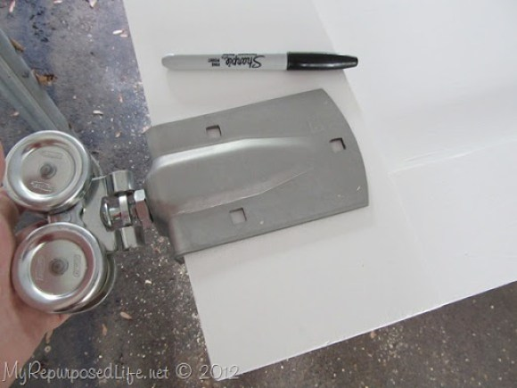 Installing door Hardware (barn door) (6)