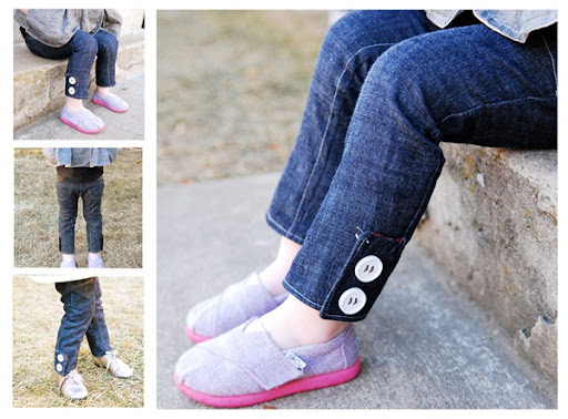 skinny jeans girls pattern