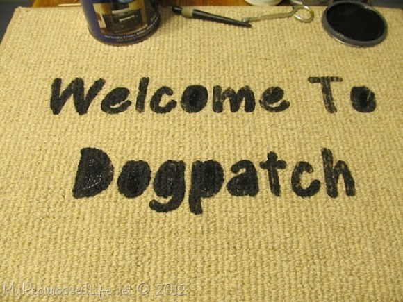 dogpatch welcome mat