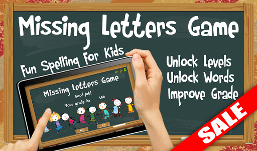 Missing Letters Spelling Kids screenshot 8