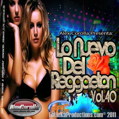 Lo Nuevo Del Reggaeton Vol. 40 (2011)