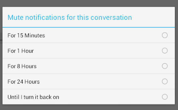 Trick to disable Facebook chat notifications - in Android