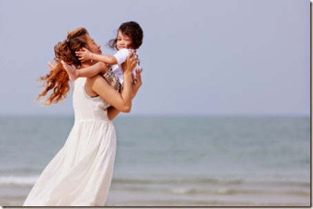 mom-child play