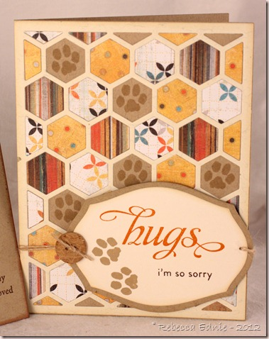 pet sympathy hex card