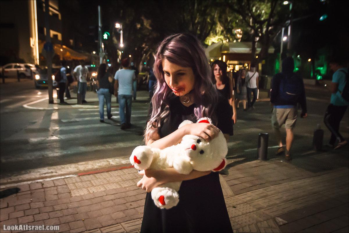 LookAtIsrael.com - Парад зомби в Тель Авиве | Zombie walk TLV, Tel Aviv 2015 |  מצעד זומבים בתל אביב, צעדת הזומבים, זומבי ווק