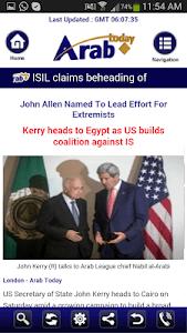 Arab Today screenshot 3