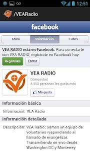 VEA RADIO screenshot 1