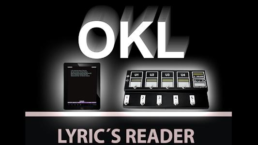OKL Lyrics Reader screenshot 2