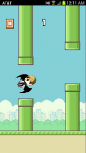 Kris Flying Game screenshot 0