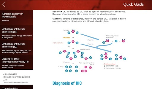 iHemostasis screenshot 6