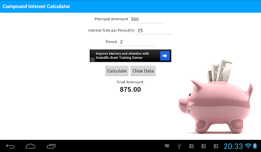 Compound Interest Calculator screenshot 3