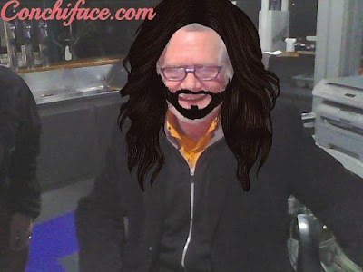 Conchita your face ! screenshot 1