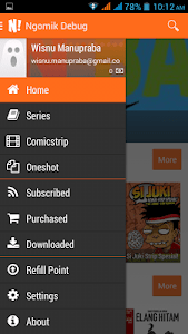 NGOMIK - Baca Komik Indonesia screenshot 1