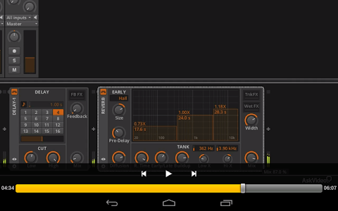 Course For Bitwig Interments screenshot 3