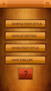 Horror Font Style Free screenshot 0