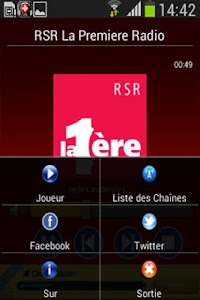 Radio Suisse screenshot 1