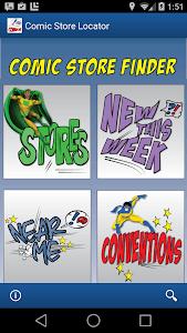 Comic Store Finder screenshot 0